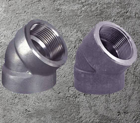 Alloy Steel Forged Threaded Elbow